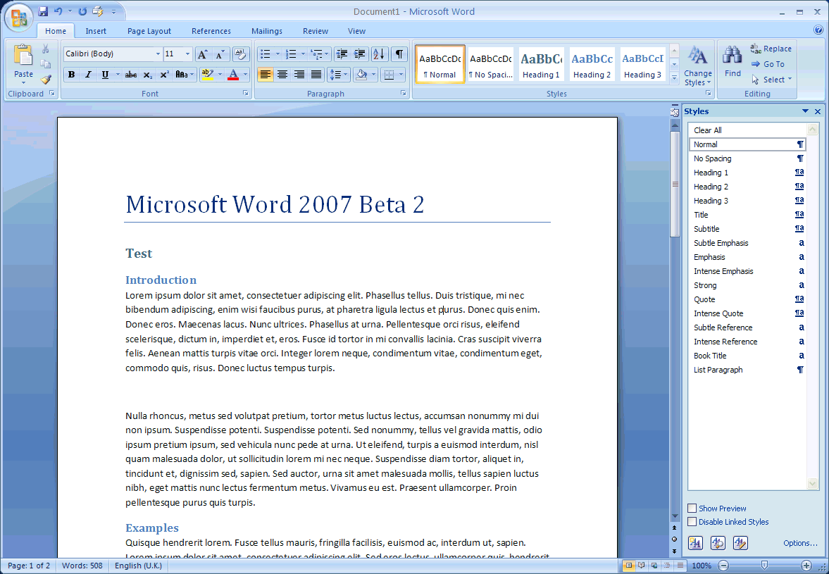 microsoft word document free download